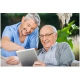 clínica de cuidados para idosos com Alzheimer Vila Maria