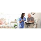 hospedagem de idosos com demência vascular