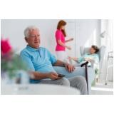 lar para idoso com assistência médica Santos