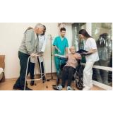 onde encontrar lar para idoso com fisioterapia Parque São Domingos