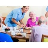 onde encontro lar para idoso com assistência médica Parque Peruche