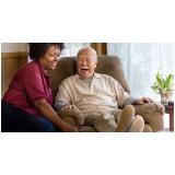 residencial com idosos com demência vascular